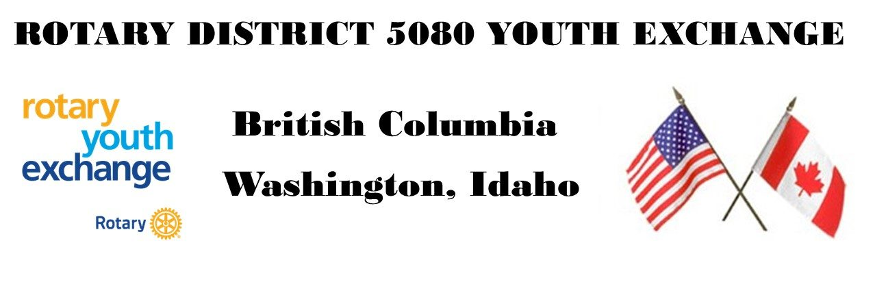 Rotary District 5080 Youth Exchange